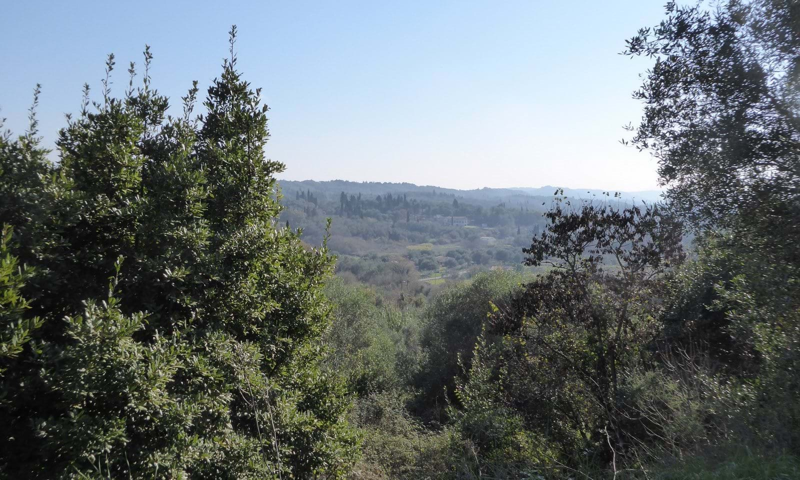Building land for sale in Gardelades Corfu