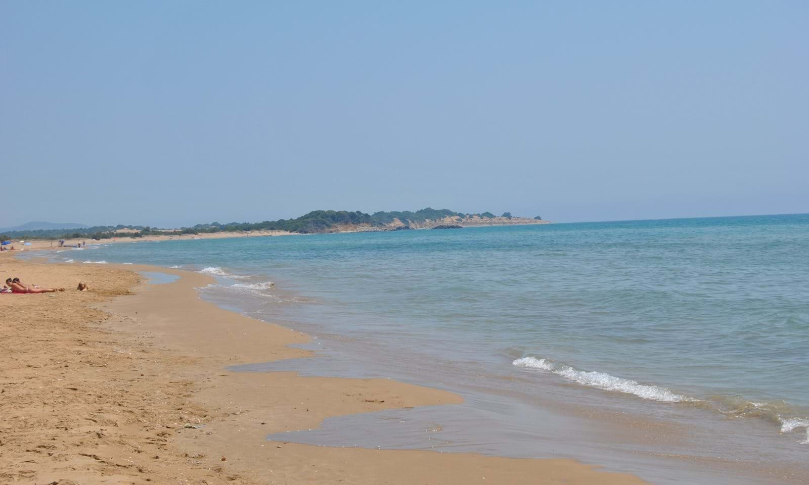 part of issos beach 300m from house