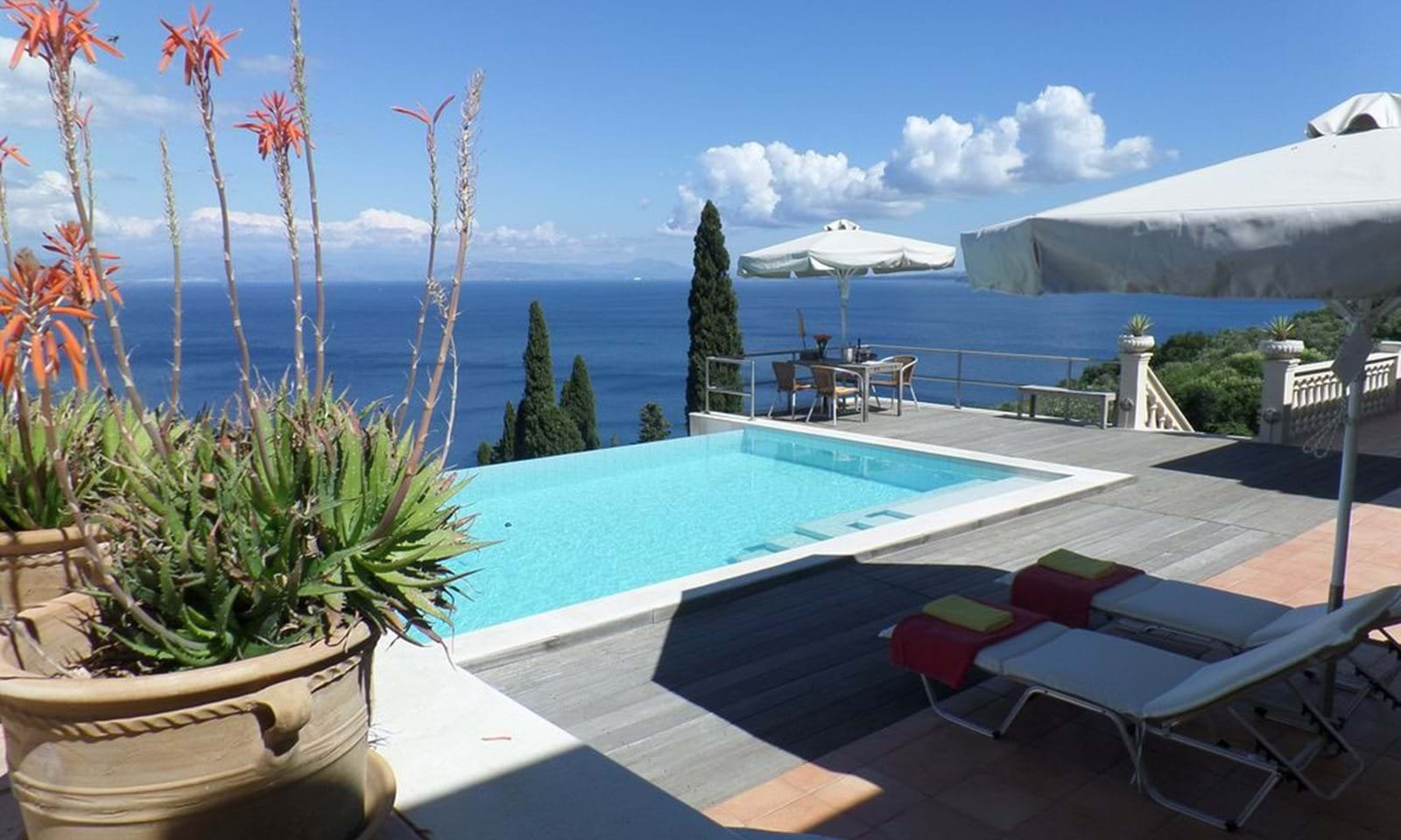 villa in south corfu for sale, south corfu villa, luxury corfu villa