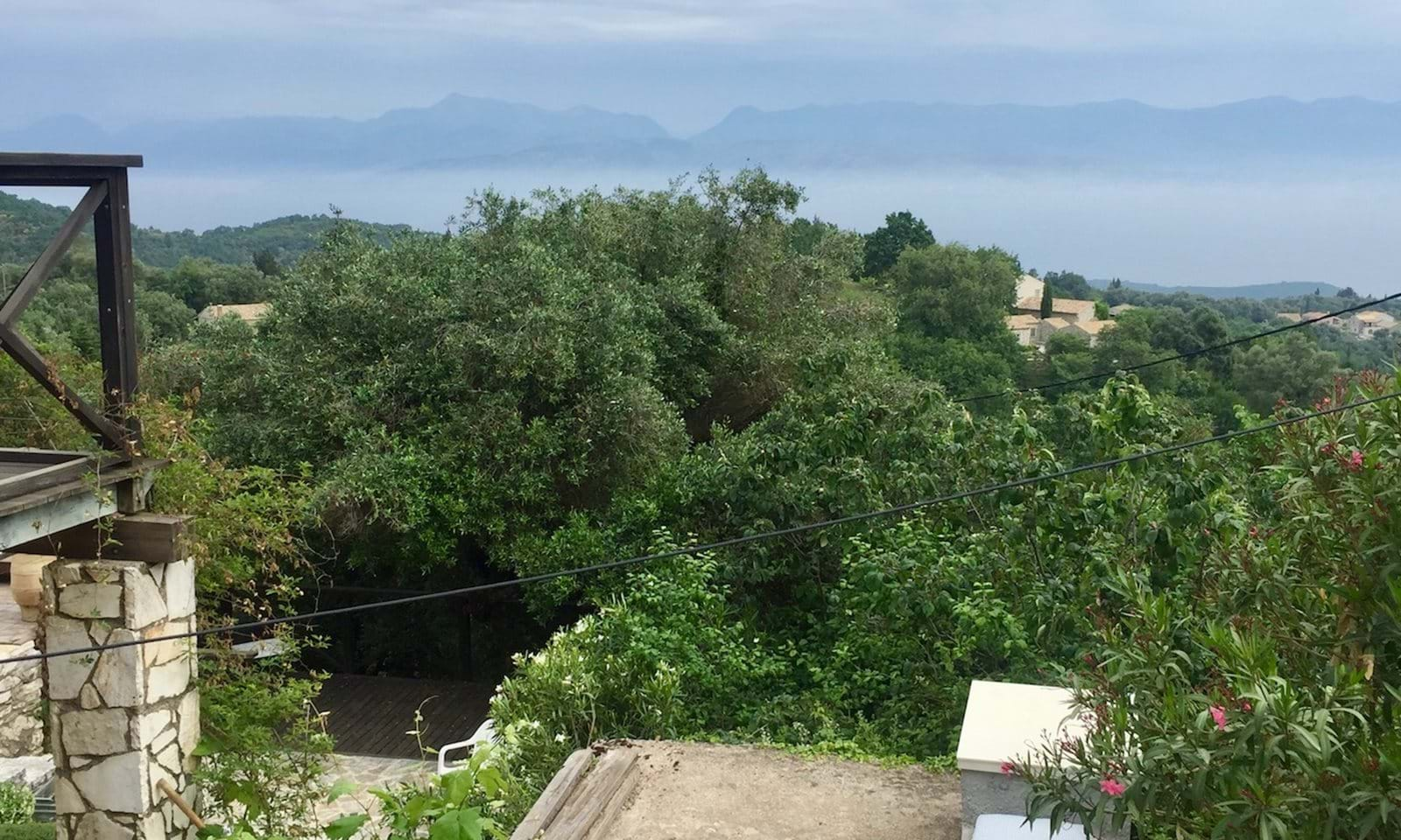 Beautiful house for sale in Tritsi, near port in Corfu