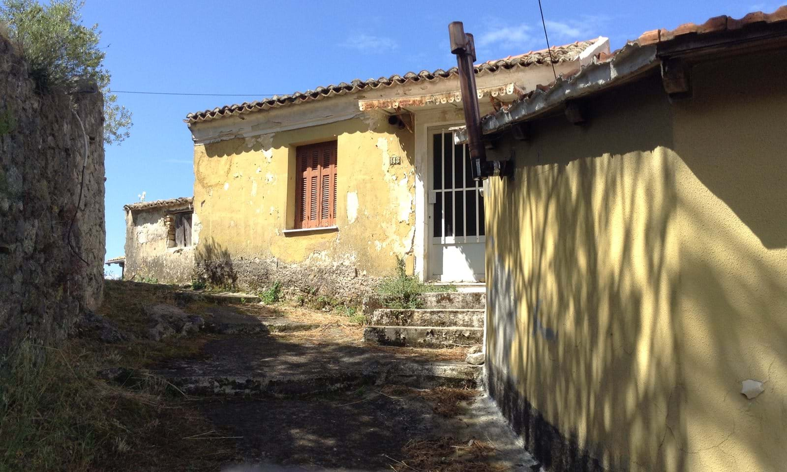 Stone property for renovation in Corfu