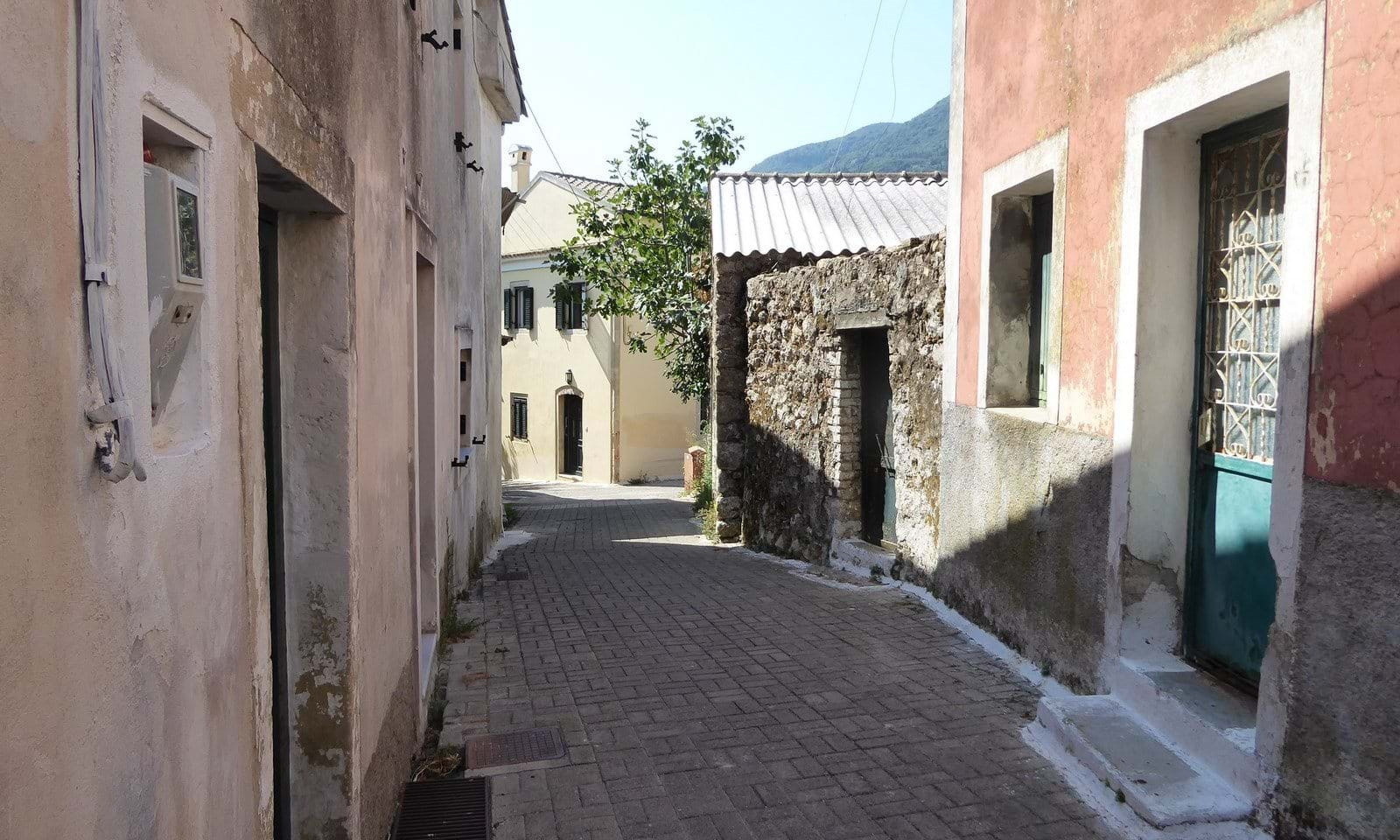 Village houses for sale in central Corfu