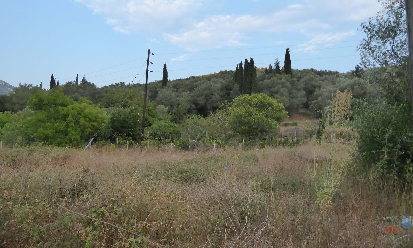 Land for sale in Doukades Corfu