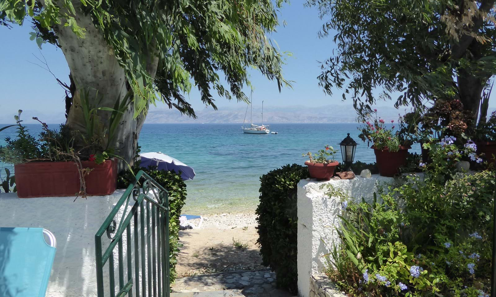 Beachfront property for sale in Corfu