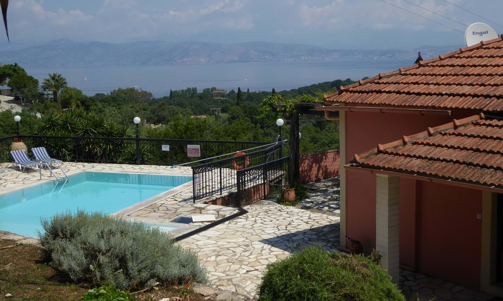 North East Corfu villa for sale