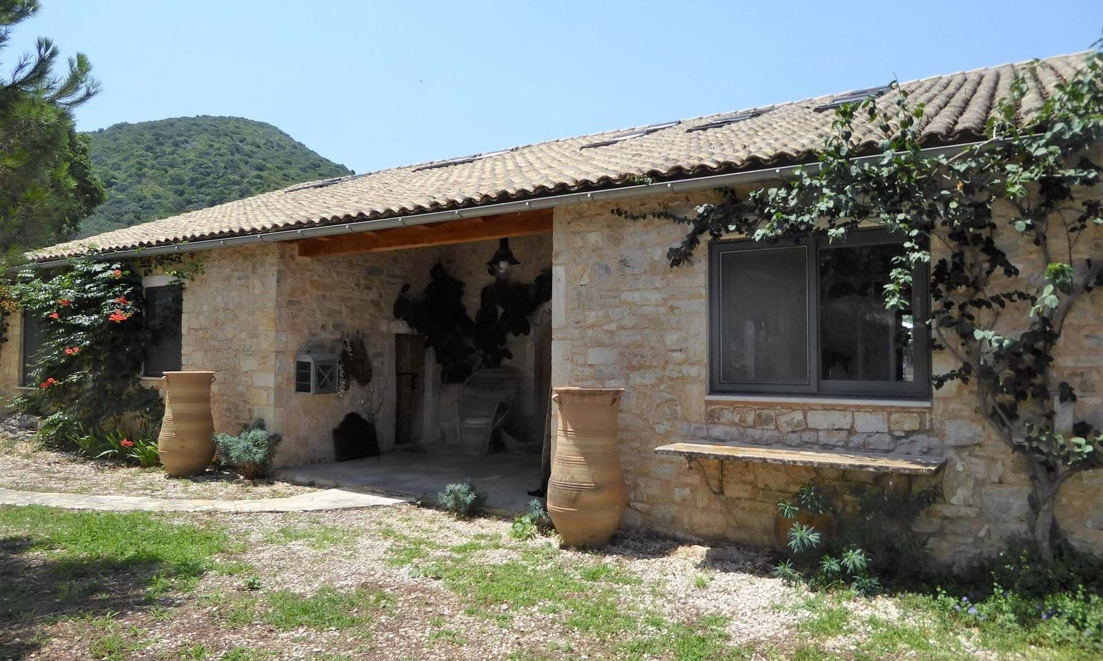 Converted Olive Press for sale in North Corfu
