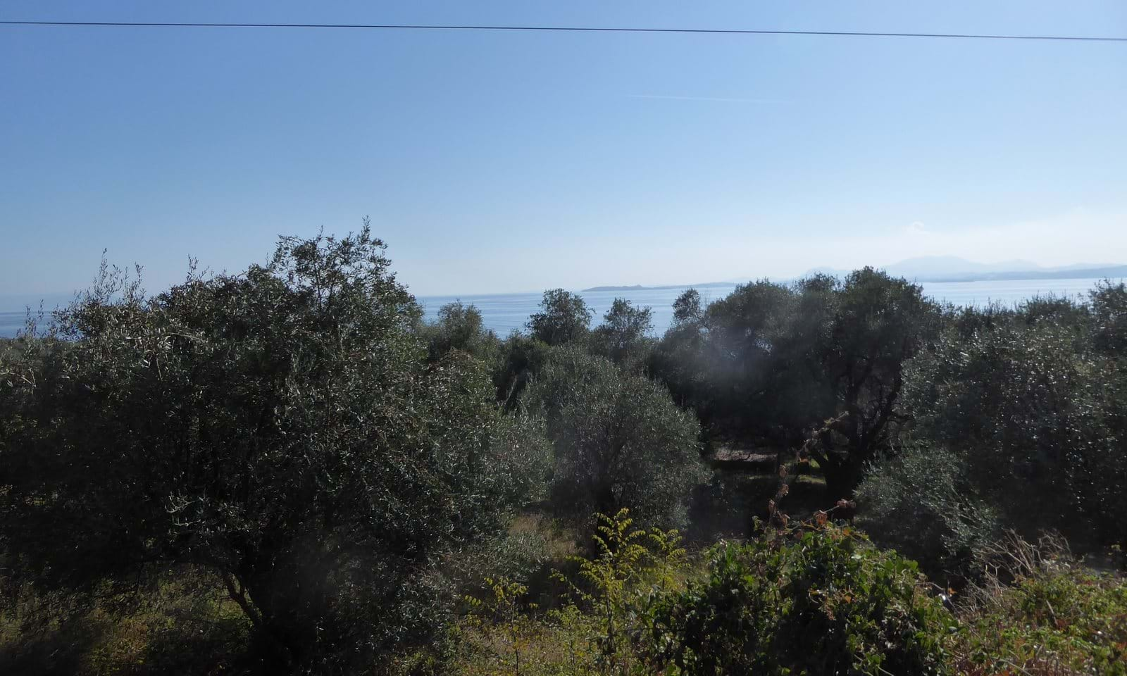 Land for sale in Glyfa Corfu