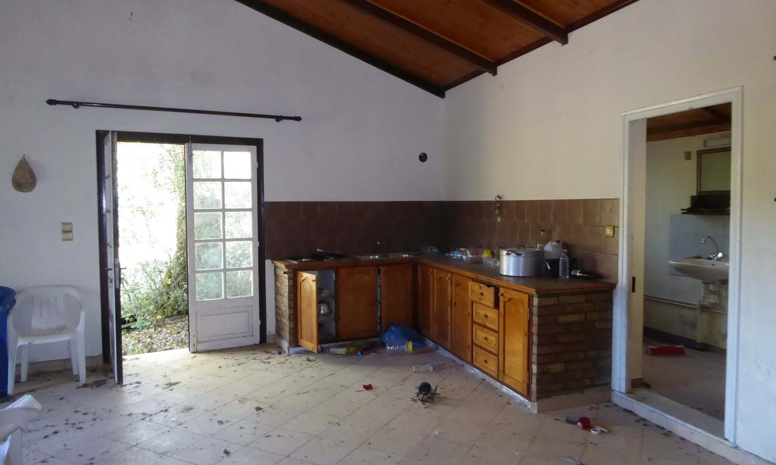 Property in need of renovation in Corfu Greece