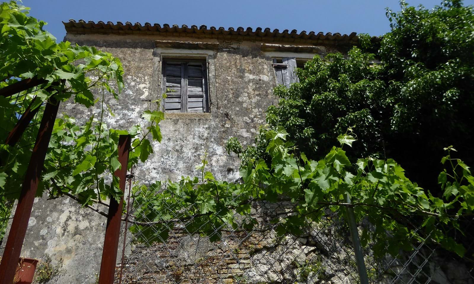 Stone village houses for sale in Corfu