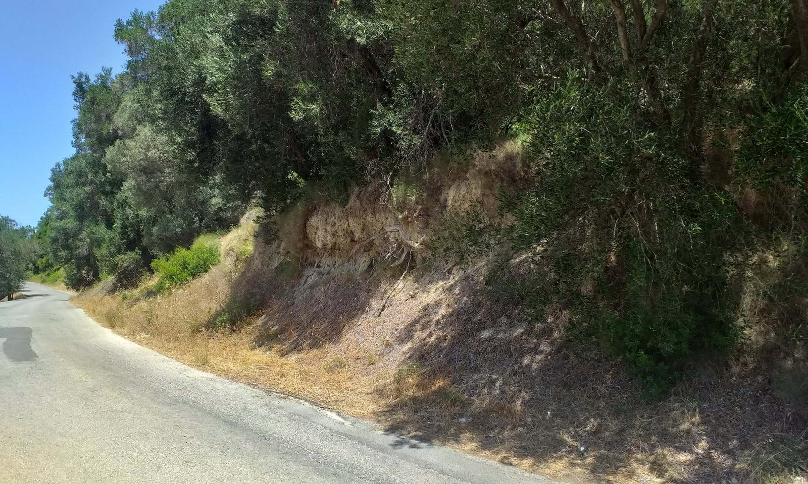 Makrades land for sale in Corfu