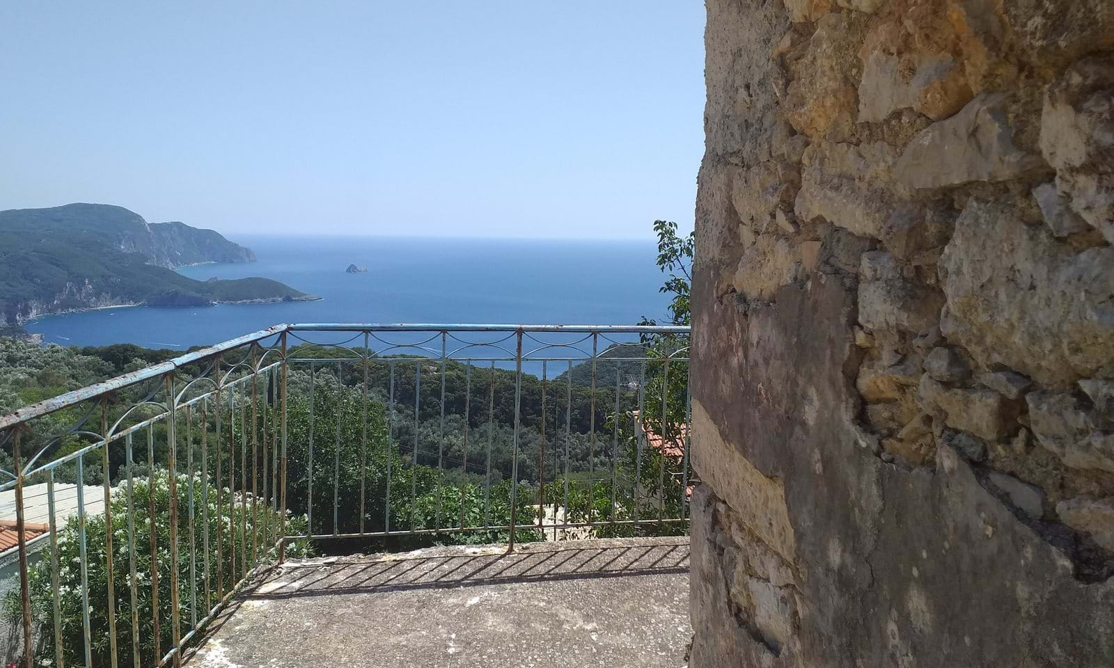 Property for sale in Lakones Corfu