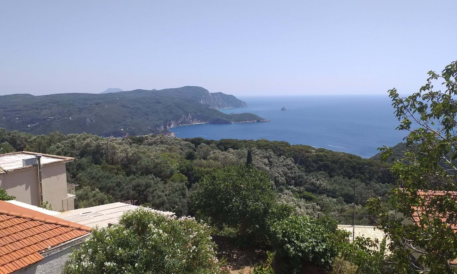 Lakones property for sale in Corfu